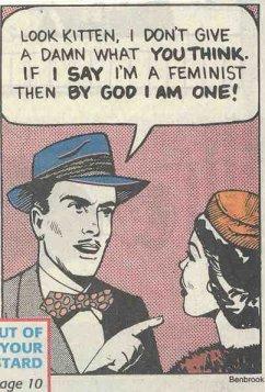אם אני אומר שאני פמיניסט, אז לעזאזל, אני פמיניסט!