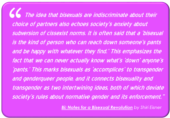 Book Quote: Transgender and Bi and intertwining ideas